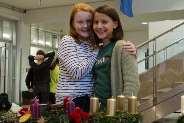 Advent und Weihnachten im Schulhaus des G11