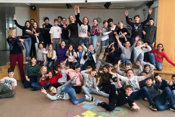 Theaterworkshop mit Lilian Klebow und Erich Altenkopf
